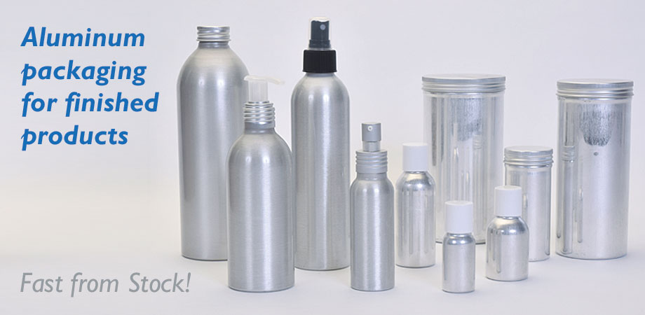Aluminum Packaging for Finished Products - Fast from Stock!
